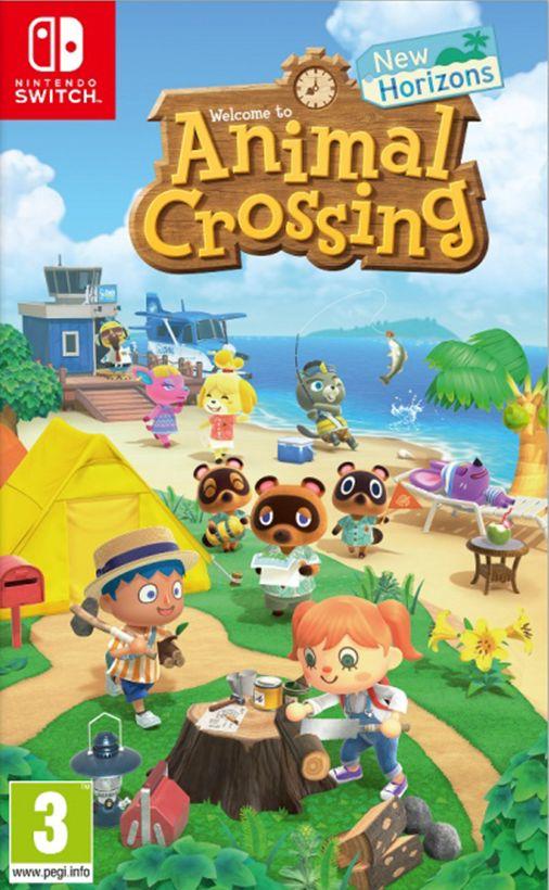 Nintendo Animal Crossing: New Horizons Switch spēle