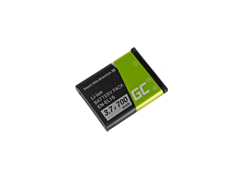 Green Cell EN-EL23 for Nikon Coolpix B700, P600, P610, P900, S810C 3.7 foto, video aksesuāri