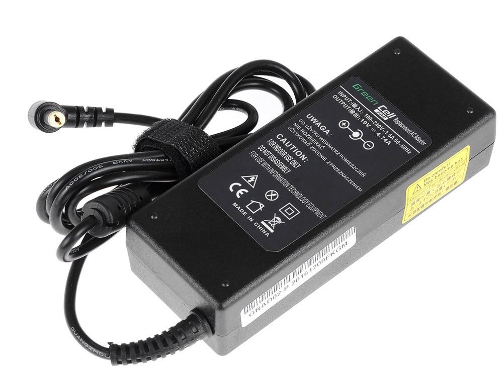 Green Cell PRO Charger AC Adapter for Acer 90W / 19V 4,74A / 5.5mm-1.7mm portatīvo datoru lādētājs