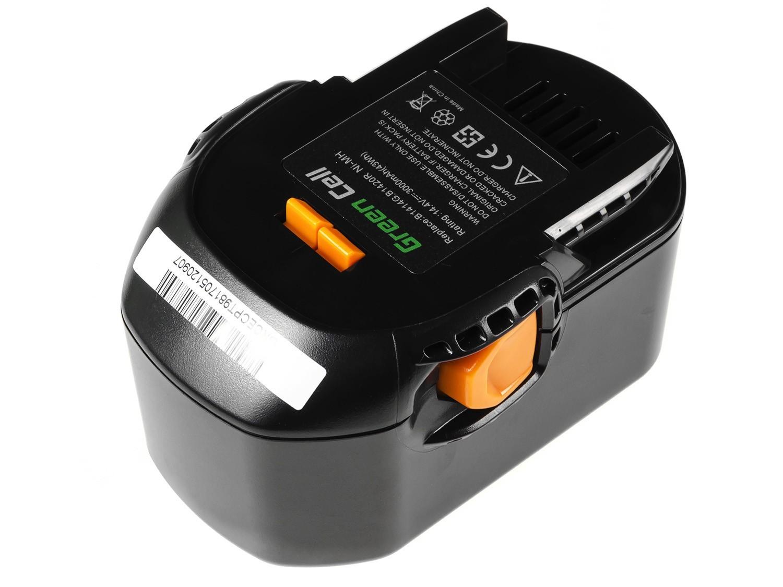 Green Cell Power Tool Battery for AEG BS 14 G BS 14 X 14.4V 3Ah