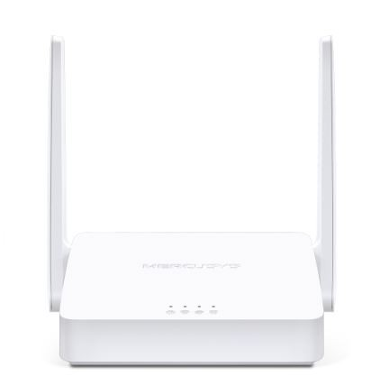 MERCUSYS Wireless Router|300 Mbps|IEEE 802.11b|IEEE 802.11g|IEEE 802.11n|2x10/100M|LAN \ WAN ports 1|Number of antennas 2|MW Rūteris