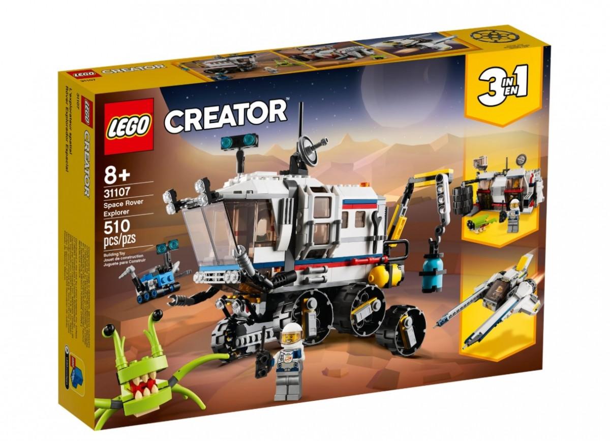 LEGO Creator  31107 Space Rover Explorer LEGO konstruktors