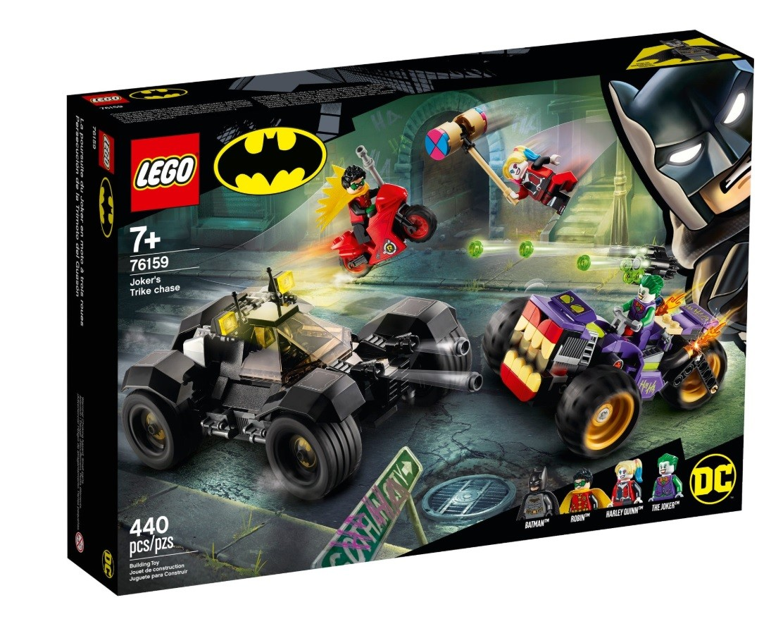LEGO Bricks Super Heros Joker s Trike Chase LEGO konstruktors