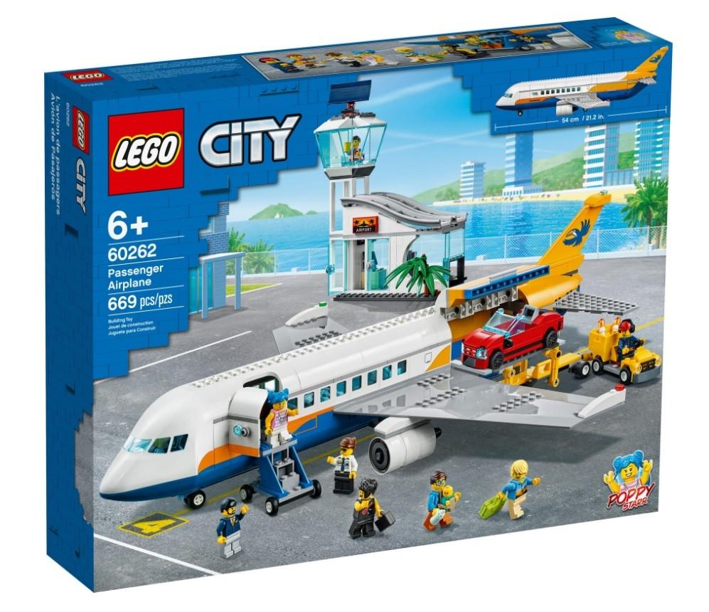 LEGO City 60262 Passenger Airplane LEGO konstruktors