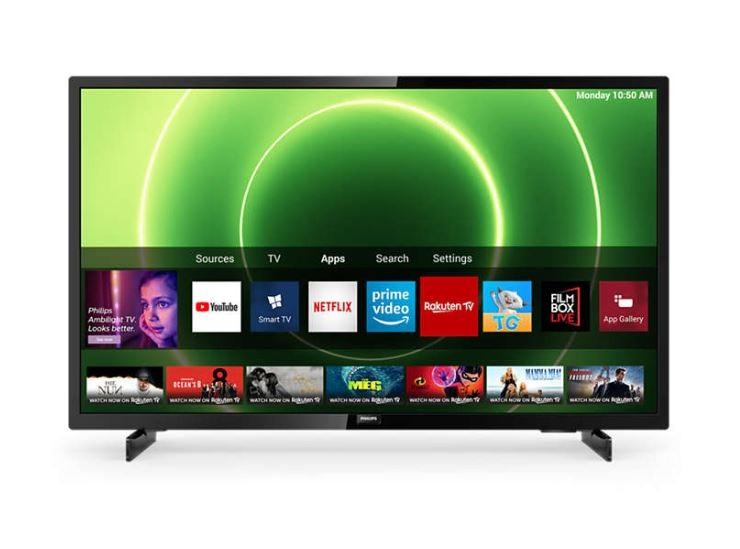 """Philips 6800 series 43PFS6805/12 TV 109.2 cm (43"""") Full HD Smart TV Wi-Fi Black LED Televizors"""