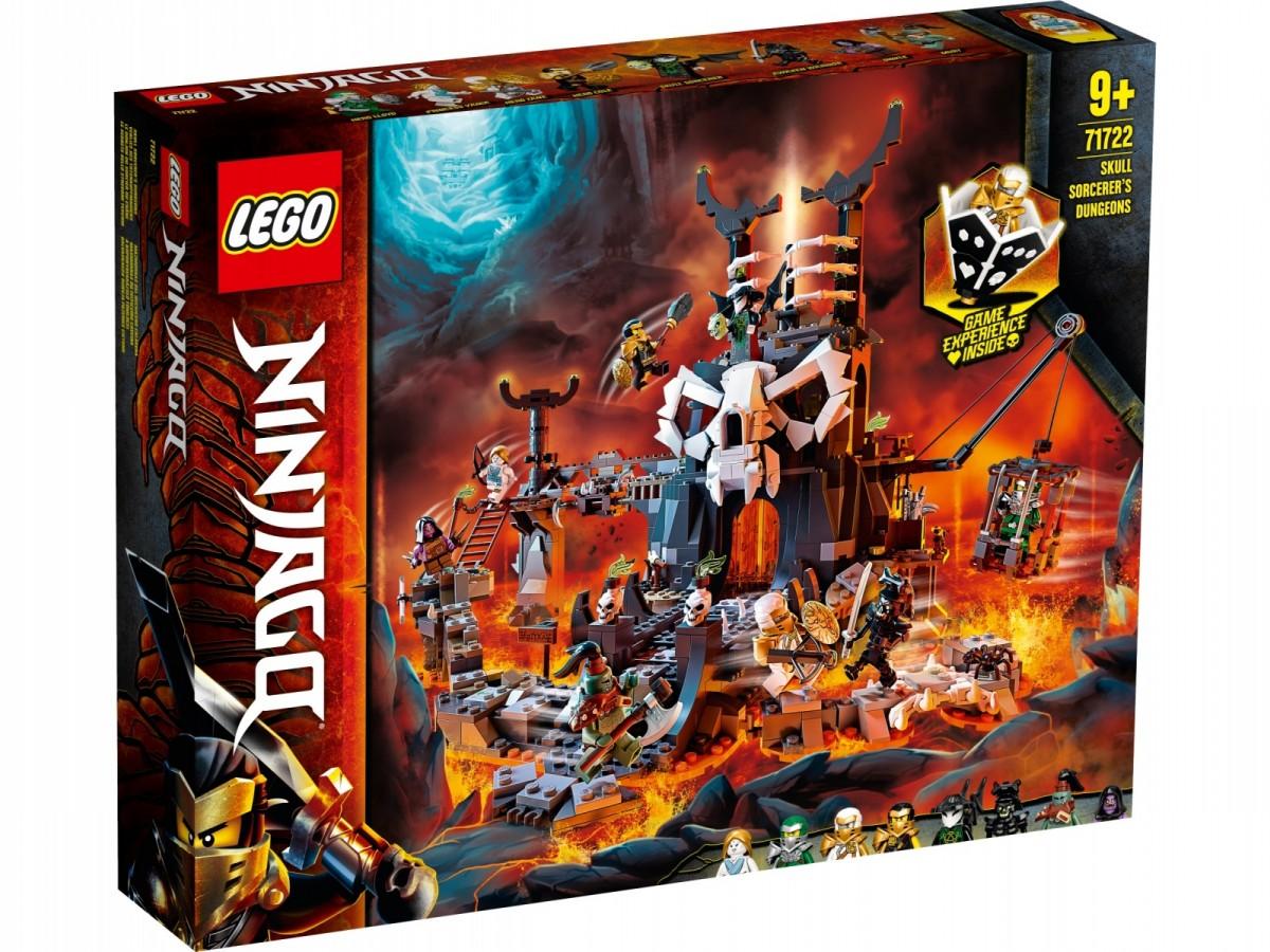 LEGO Ninjago 71722 Skull Sorcerer's Dungeons LEGO konstruktors