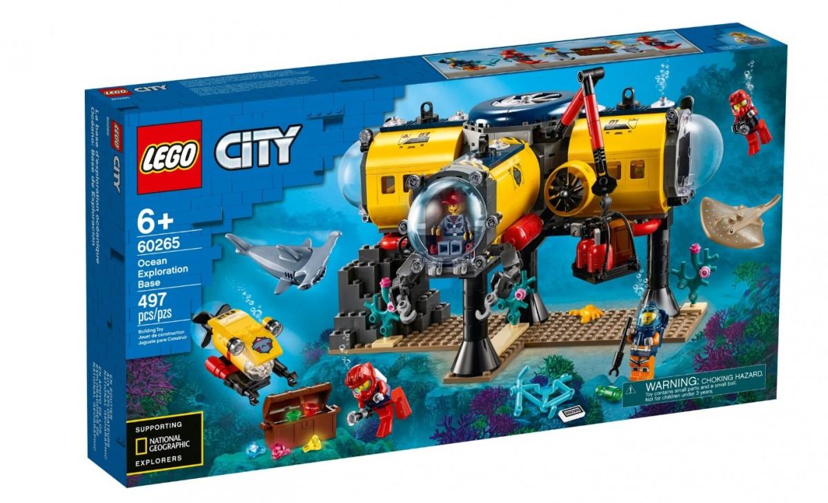LEGO City 60265 Ocean Exploraion Base LEGO konstruktors