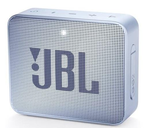 JBL Go 2, compact portable speaker with battery, IPX7 waterproof, Cyan pārnēsājamais skaļrunis