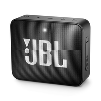JBL Go 2, compact portable speaker with battery, IPX7 waterproof, Black pārnēsājamais skaļrunis