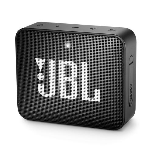 JBL Go 2, compact portable speaker with battery, IPX7 waterproof, Black pārnēsājamais skaļrunis