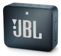 JBL Go 2, compact portable speaker with battery, IPX7 waterproof, Navy pārnēsājamais skaļrunis