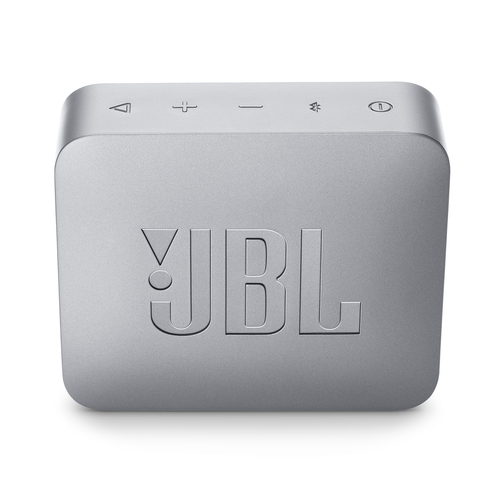 JBL Go 2, compact portable speaker with battery, IPX7 waterproof, Grey pārnēsājamais skaļrunis