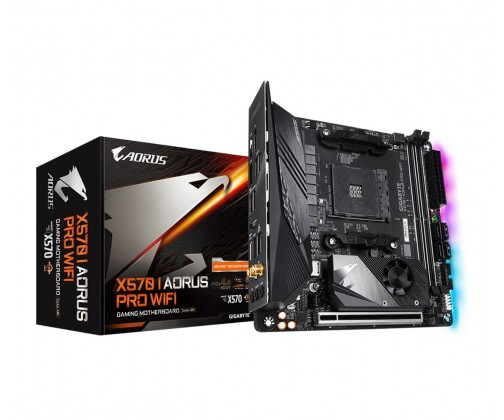 Gigabyte X570 I Aorus Pro WiFi, AMD X570 Mainboard - Socket AM4 pamatplate, mātesplate