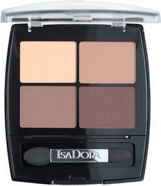 IsaDora Eye Shadow Quartet eye shadows 44 Muddy Nudes 5g ēnas