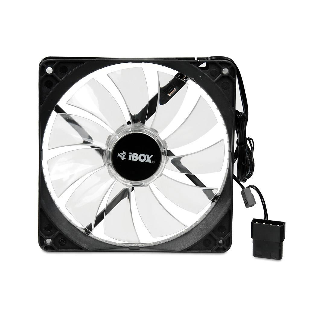 IBOX Fan 14 cm RGB (33 LEDs) ventilators