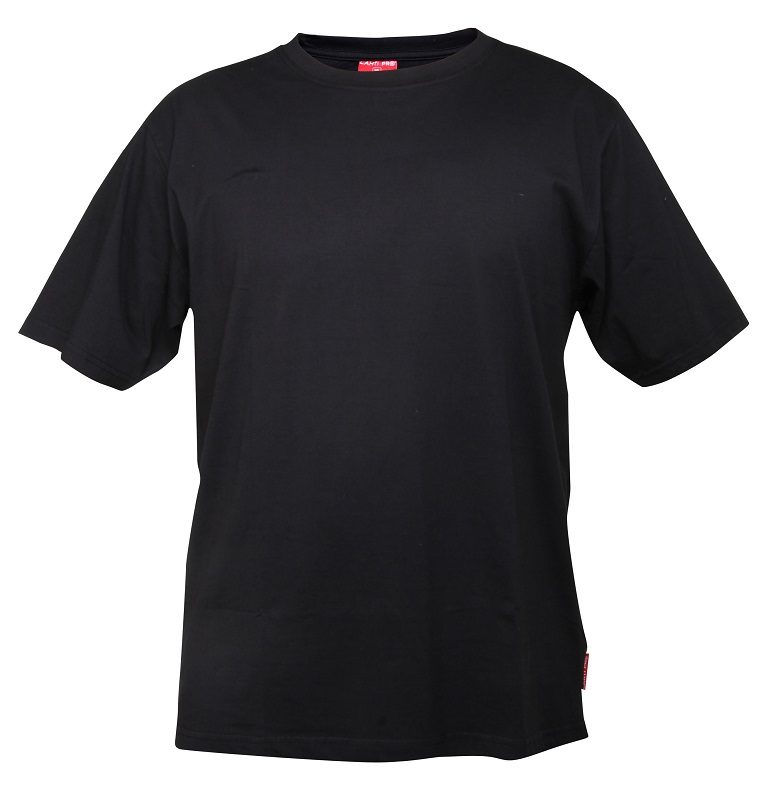 Lahti Pro Cotton T-shirt Black Size XXXL (L4020506)
