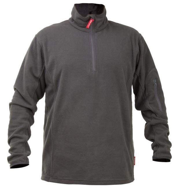 Lahti Pro R M Short Zip Fleece - LPBP3M