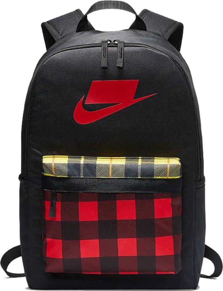 Nike Hernitage Bkpk 2.0 Aop sports backpack black-red (BA5880 010) Tūrisma Mugursomas