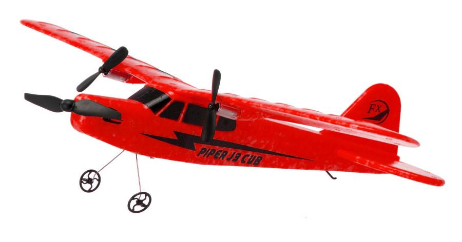 Piper J-3 CUB 2.4GHz RTF (wingspan 34cm) - red