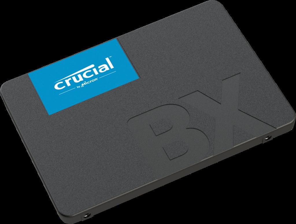 Crucial SSD BX500 240GB, 3D NAND, SATA III 6 Gb/s, 2.5-inch SSD disks