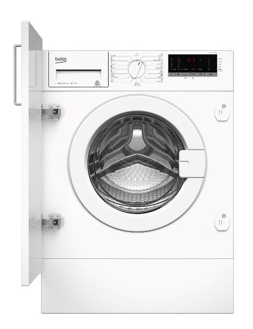 Washing machine Beko WITC7612B0W | 7kg 1200 obr. A+++ Iebūvējamā veļas mašīna