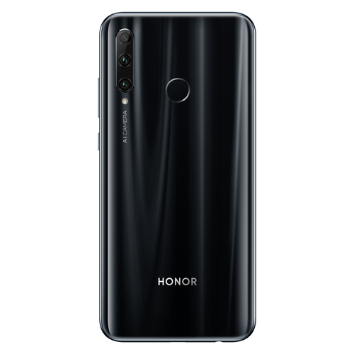 Honor 20 Lite - 6.21 - 128GB - Android  - Midnight Black Mobilais Telefons