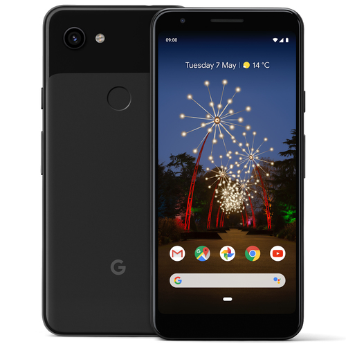 Google Pixel 3a XL Just Black Mobilais Telefons