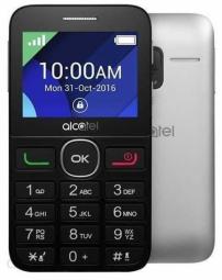 Alcatel 2019G Silver 4894461813448 2019G-3BALPB1 Mobilais Telefons