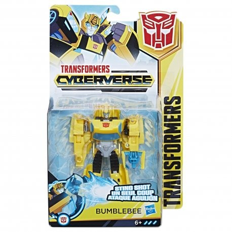 Hasbro Transformers Cyberverse Action Attackers Warrior Bumblebee Rotaļu auto un modeļi