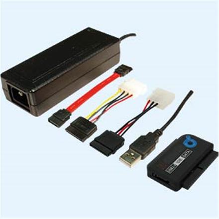 LOGILINK - Adapter USB 2.0 for IDE + SATA, HDD 2,5'' and 3,5'' piederumi cietajiem diskiem HDD