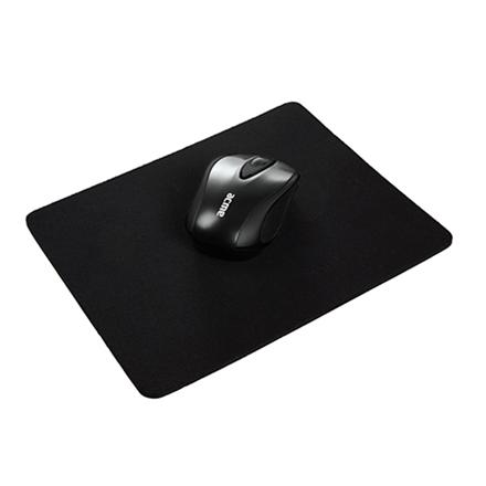 Acme Cloth Mouse Pad Black peles paliknis