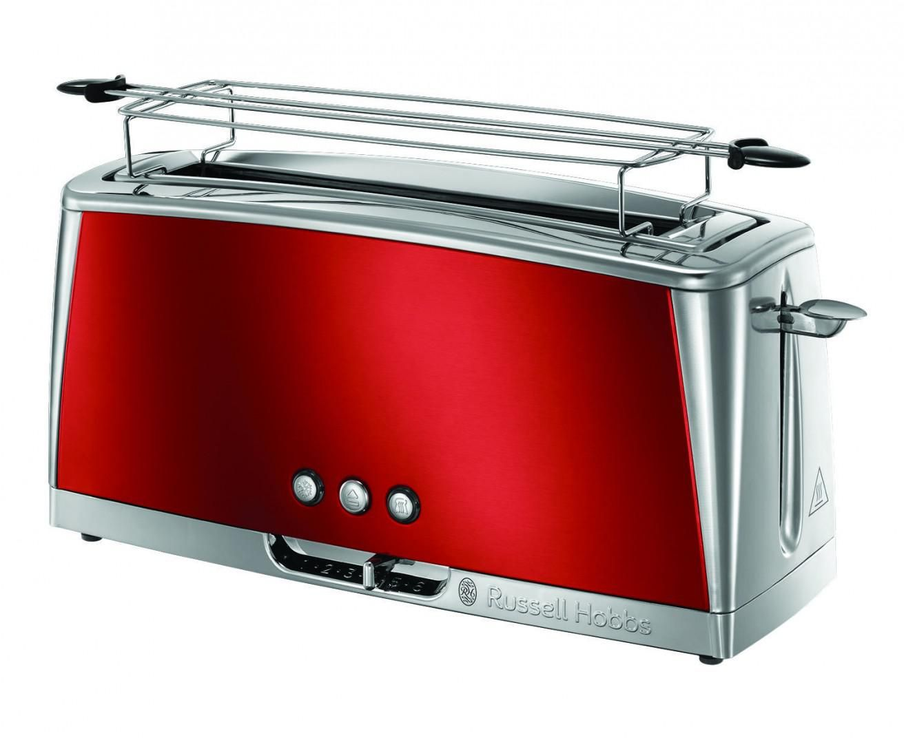 Toster Russell Hobbs Luna Solar Red Long Slot (23250-56) Tosteris