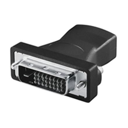 HDMI female - DVI-D male adapter adapteris