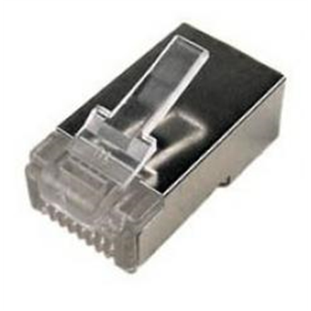 Logilink Modular Plug CAT5  8P8C Shielded 100 pcs, polybag