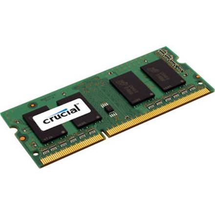 Crucial 8GB 204-pin SODIMM DDR3 PC3-12800, CL=11, Unbuffered operatīvā atmiņa