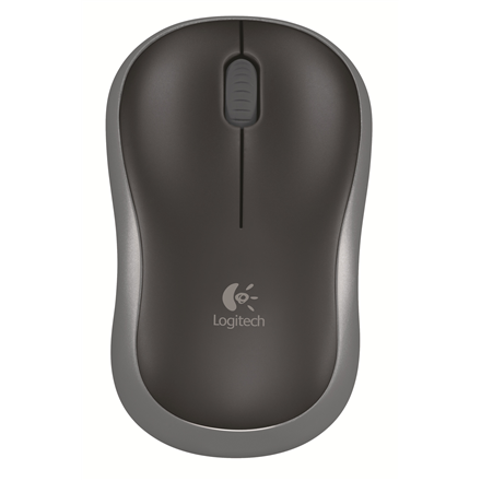 Logitech M185 Swift Grey Nano Datora pele