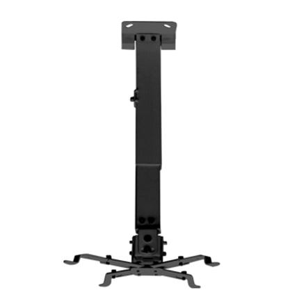 Sunne Universal Ceiling Projector Bracket (Black), 430-650mm projektora aksesuārs