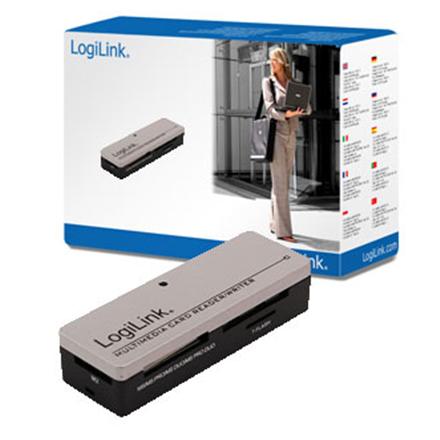 Logilink All-in-1 card reader, USB2.0 karšu lasītājs