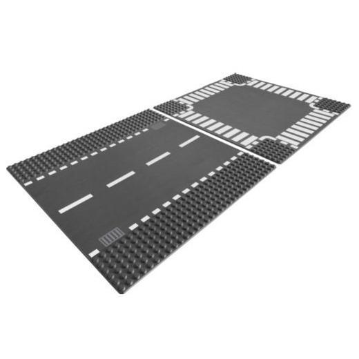 LEGO Straight & Crossroad V70,V110 7280 LEGO konstruktors
