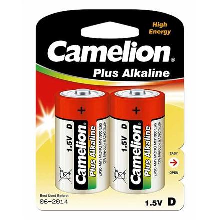 Camelion D/LR20, Plus Alkaline, 2 pc(s) Baterija