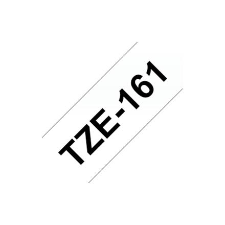 BROTHER TZE161 TAPE black/clear 36mm 8m biroja tehnikas aksesuāri