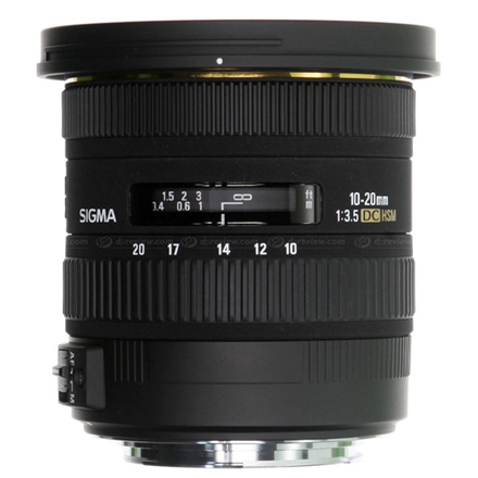 Sigma EX 10-20mm F3.5 DC HSM for Nikon, 13 Elements in 10 Gr foto objektīvs