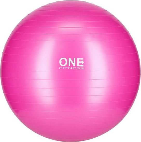 One Fitness Gym Ball 10 55cm pink bumba