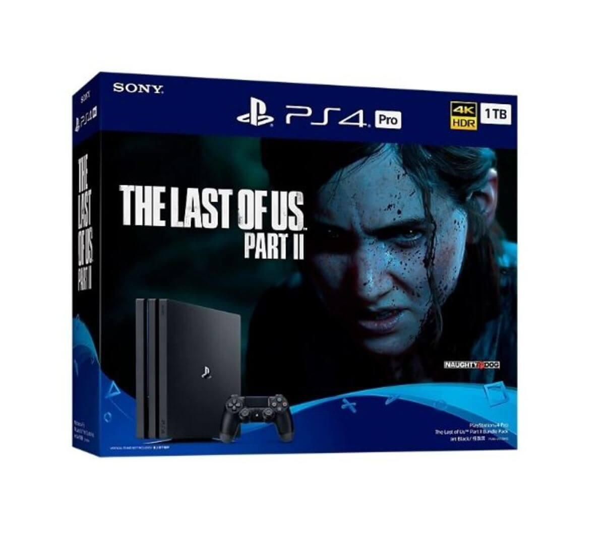 Sony Playstation 4 Pro 1TB PS4 Black + The Last Of Us 2 spēļu konsole