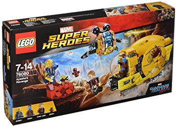 LEGO Marvel Super Heroes Ayeshas Revenge 76080 LEGO konstruktors