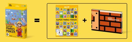 Super Mario Maker + Artbook (Wii U) spēle