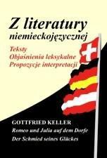 Z literatury niemieckojez. Gottfried Keller... 187310 Literatūra