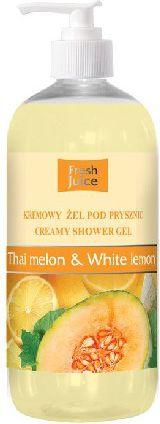 Fresh Juice Zel pod prysznic kremowy Melon i Biala Cytryna 500ml 812791