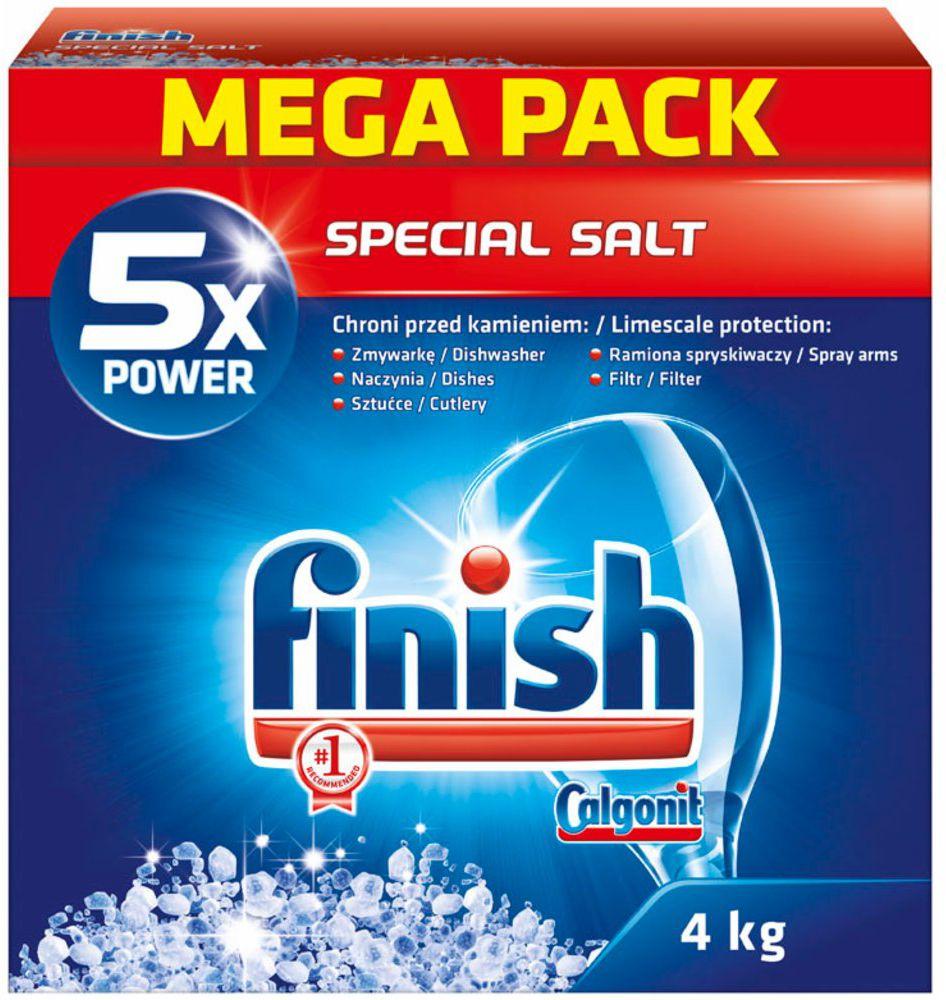 Finish Sol do zmywarki 4kg (077TG) 077TG tīrīšanas līdzeklis