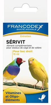 FRANCODEX Witaminy na proste dzioby ptakow 15 ml 1106178